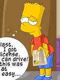 fresh Simpson gets Driving license titans hentai spies