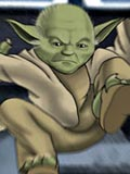 new Master Yoda from Star wars shows his pupils how to fuck witches
