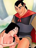 adult Sexually attractive Mulan use her small dragon as vibrator listcomix