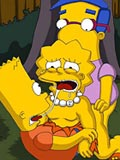 sex Lisa was screwed by Bart and his friend at parents garden comiXXX