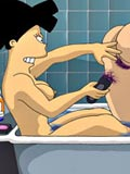 sex Futurama with big boobs was fucked by green monster alien comiXXX