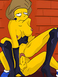 wild Krabappel as horny  drunk sluts ALex