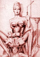 adult comix Amazing sado mazo artworks with specific bdsm devices pages