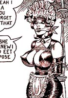free Sexy mistress hardly spanking her slaves