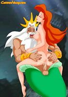 cartoon Areil Mermaid first pocahontas hentai new