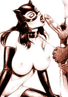 porn Catwoman fucking sexy cartoons
