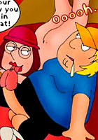 Fred Flinstone Griffins fucking cartoon sex orgy