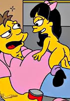 porn Marge lets pretty tits the simpsons hentai