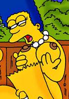 porn Simpsons sisters nude toon