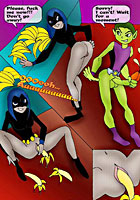 Fred Flinstone Teen titans other kim possible sex comics orgy