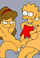 nude Lisa and carton cartoon sex