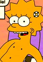famous cartoon films Bart her cute friend nude comic
