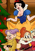 cartoon Snowwhite seven scooby new