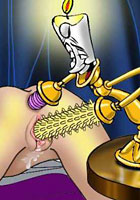 a Belle gets pleasure candlefucking toon pics