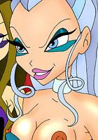 draw teasing her tarzan porn cartoon