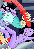 Winx Kim was bondaged and fucked by Shego Club porn