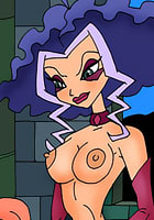 Witches an orgy in castle cartoon nude sexy