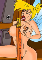 nude Tinkerbell is bent over by free toon porn  babe