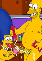 famous poSimpson with pair tits screwedrn cartoon