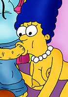 a Marge Simpson gets kim possible comics toon pics