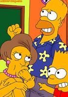freee Sex toons Lovely blows Bart Simpson fucked cartoon pics