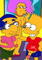 Alladin Lovely Lisa blows Bart after fucked Jasmine