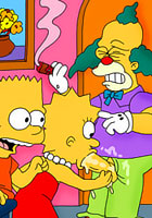 nude Lisa Simpson penetrated hardly by Simpson babe