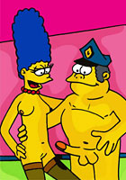 cartoon Homer fucking in cartoon nude pics