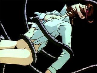 anime slut fat tentacles deep her throat