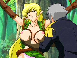Anime elf girl and banged porn comics