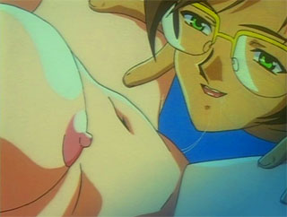 horny anime plays around each marge sex