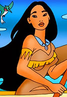Innocent Pocahontas gets drilled by Captain in dream