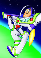 Gravitina getting her bust screwed by Buzz Lightyear