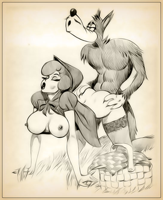 картинки секс красная шапочка и волк