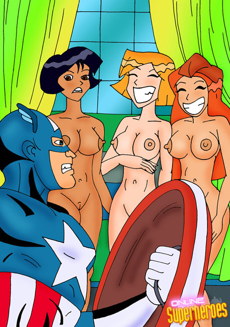 Captain America Wonder Woman Porn
