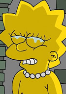 Maggie Simpson is drilled to the max