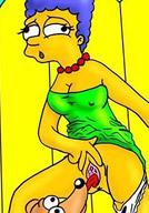 Marge cums