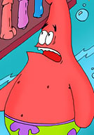 Sandy gets her pink twat penetrated by Patrick Star
