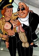 Lustful Agent FuckSpeed stroke Slut's great boobies