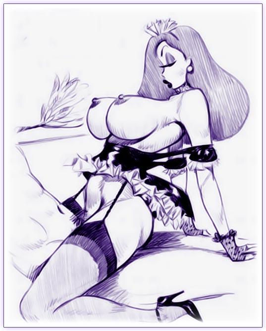 Рисованная эротика и рисованное порно сорок пять Так