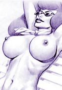sketches Ginger Daphne fucked mad nude comic for you