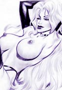 gallery about Lady Death posing weared the costume mistress porn