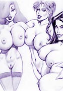 first Girls Merry Cristmas cartoon porn and hot
