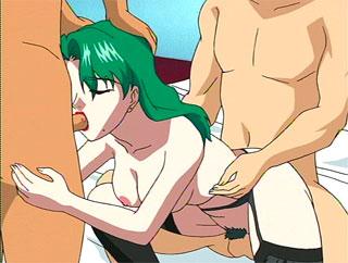 Nympho anime mother gets cartoon porn